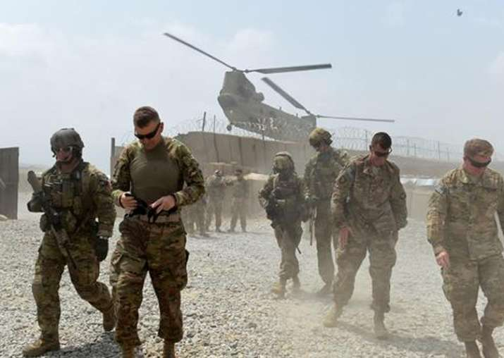 File pic - Afghan soldier kills two US soldiers: Official