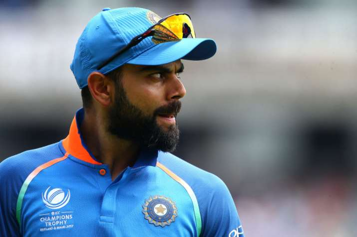 Virat Kohli of India during the ICC Champions Trophy Final