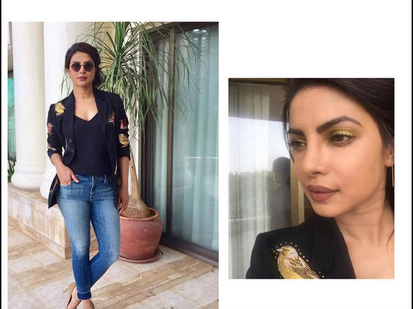 India Tv - priyanka chopra dewy makeup