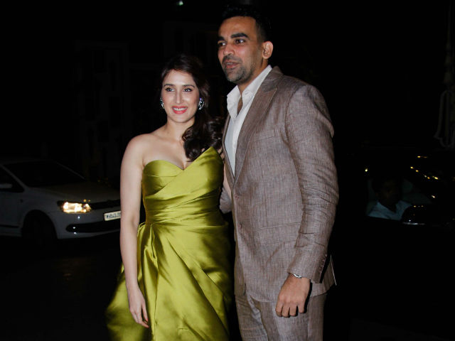 India Tv - Zaheer Khan and Sagarika