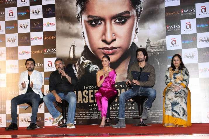 India Tv - Haseena Parkar trailer launch