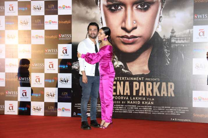 India Tv - Haseena Parkar trailer launch