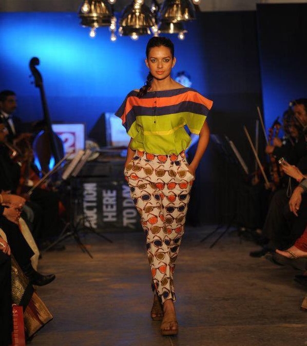 India Tv - Bidita Bag ramp walk