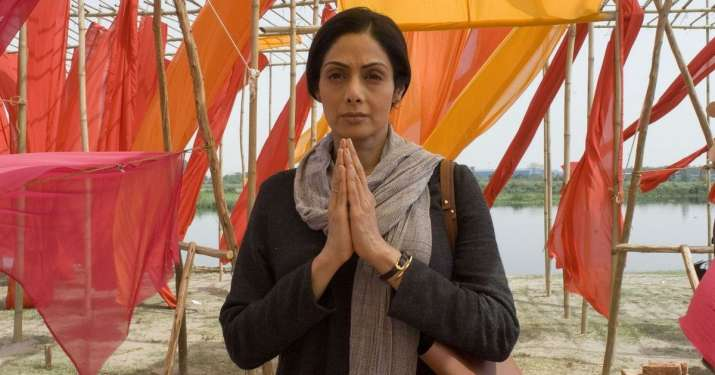 India Tv - Sridevi plays the role of Devki in Mom whose daughter has been gang raped
