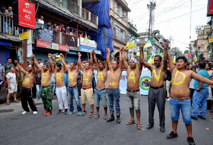 Youths ready to sacrifice lives for Gorkhaland, GJM has said