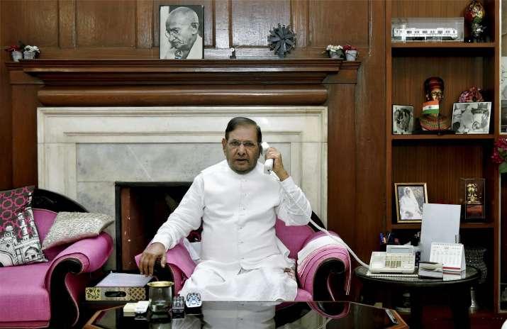 Sharad Yadav targets Modi government over black money,