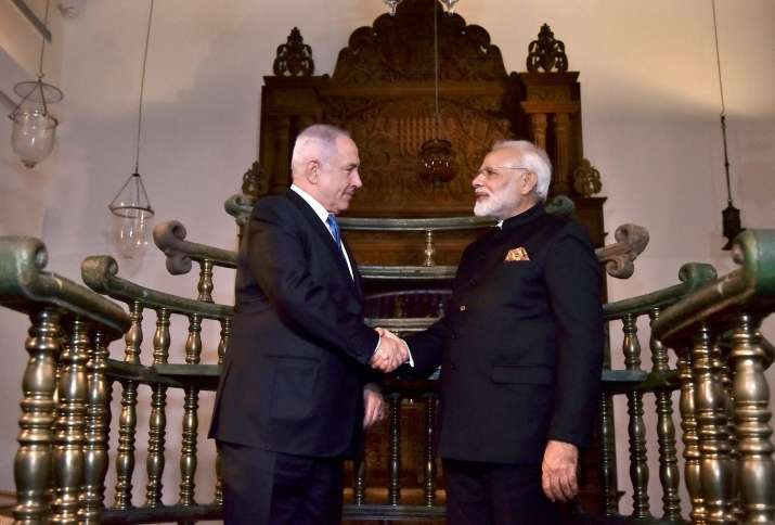 PM Modi announces new flight between Delhi-Mumbai-Tel Aviv