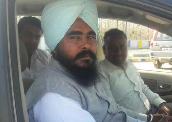 Punjab AAP MLA Amarjit Singh Sandoa booked for assault on