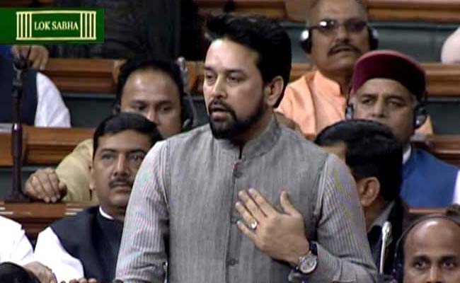 Congress demands action against Anurag Thakur for 'filming'