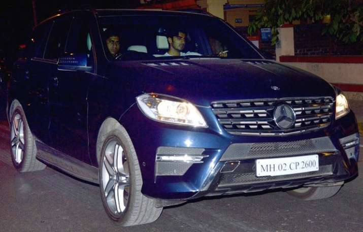 India Tv - Arjun Kapoor in his Mercedes Benz ML 350