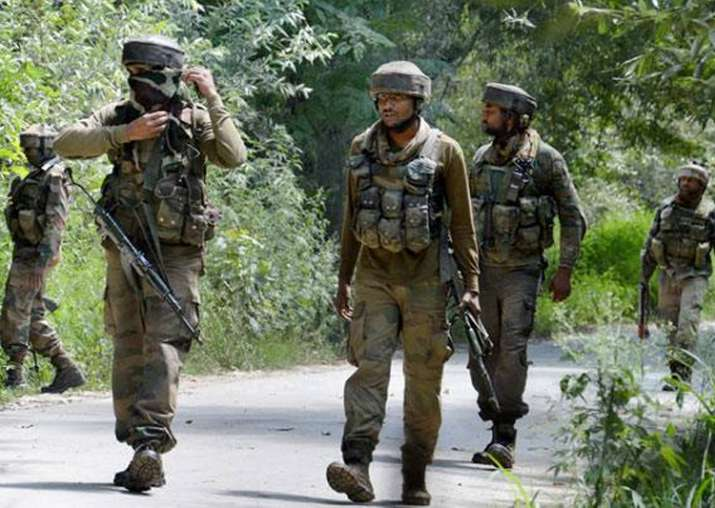 Representational pic - 102 terrorists killed in J&K in 7