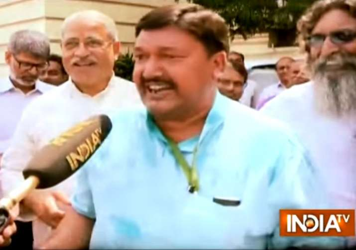 Fatwa against Bihar's Muslim minister for 'Jai Sri Ram' chan