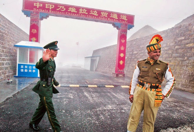 China claimed India's troops had come down from 400 in