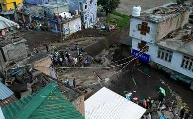 Three killed, 11 injured as cloudburst wreaks havoc in