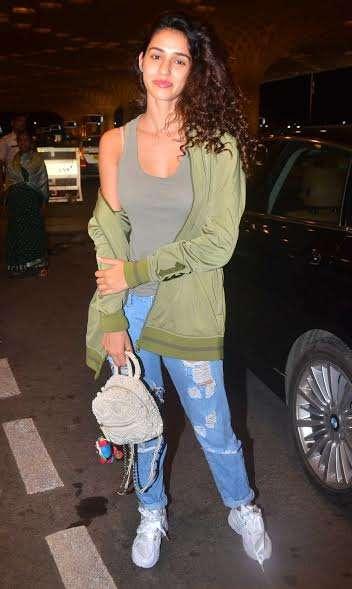 India Tv - Disha Patani spotted at airport
