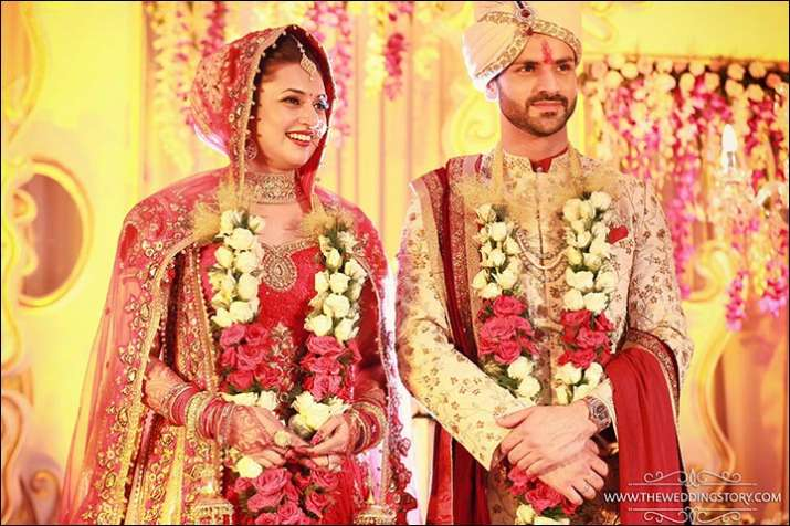 India Tv - The wedding was a grand affair in Bhopal