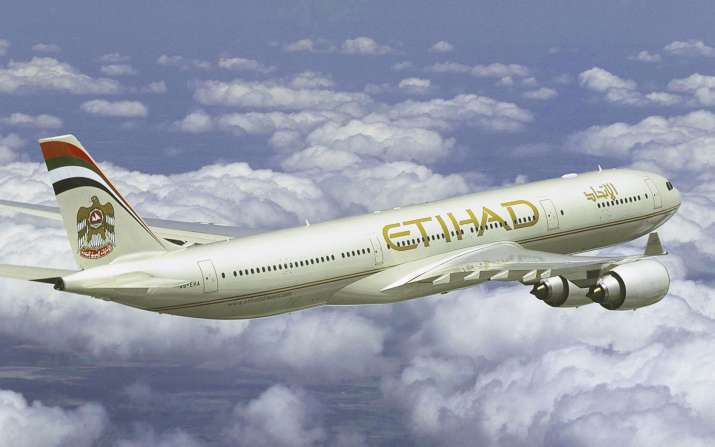 Etihad Airways aircraft's tyre bursts at Mumbai airport