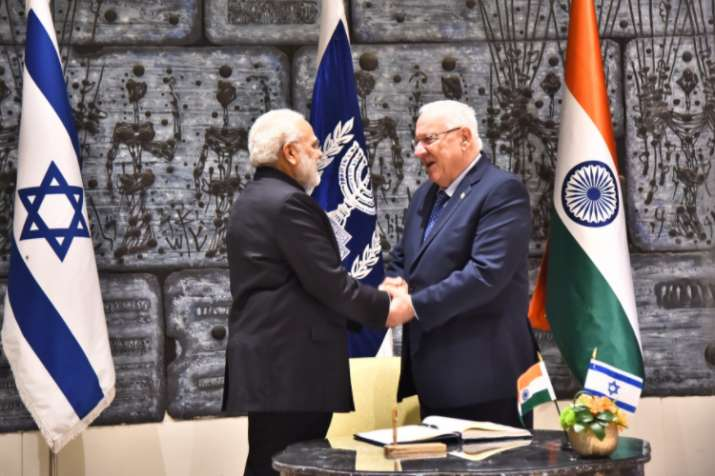 'I' for 'I': India for Israel, says PM Modi as he