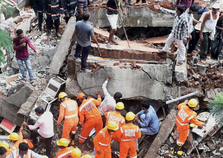 Mumbai building collapse: Shiv Sena worker Sunil Shitap