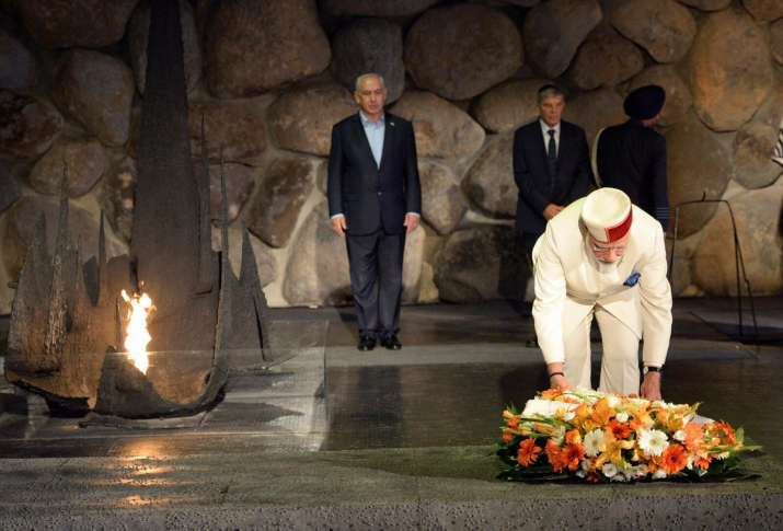 PM Narendra Modi visits Yad Vashem Holocaust memorial