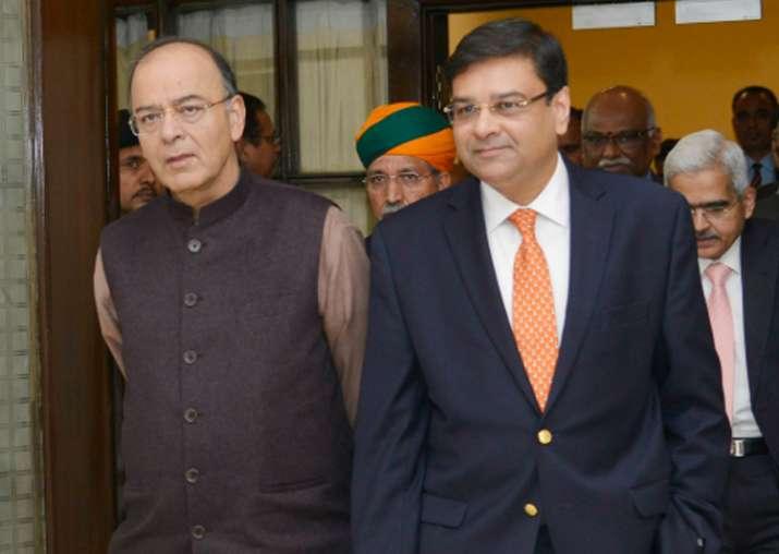 File pic - Urjit Patel meets Finance Minister Arun Jaitley