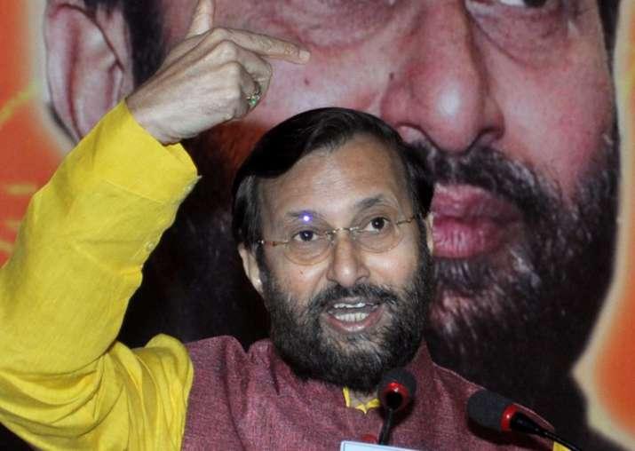 Union HRD Minister Prakash Javadekar