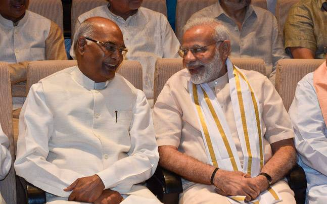 PM Modi wishes Ram Nath Kovind 'in advance', pledges