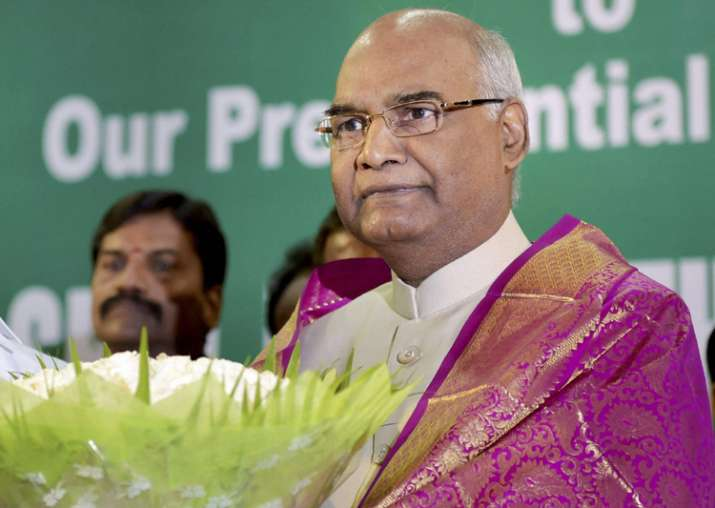 NDA presidential nominee Ram Nath Kovind