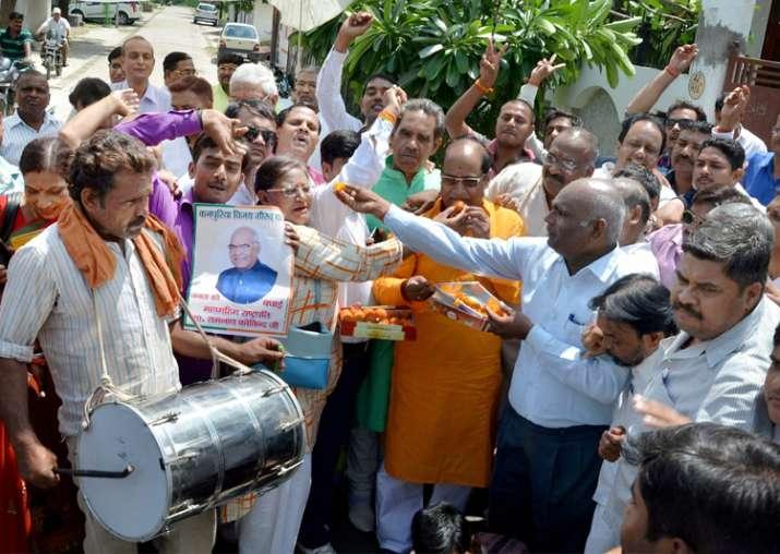 Ram Nath Kovind's victory: Wave of joy sweeps Kanpur Dehat