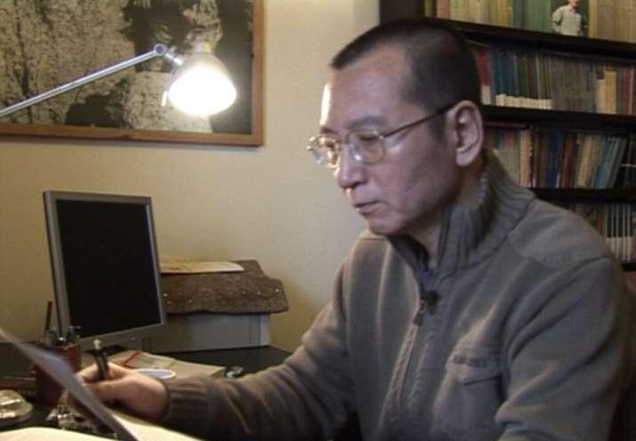 Liu Xiaobo in an image taken from an AP video in January
