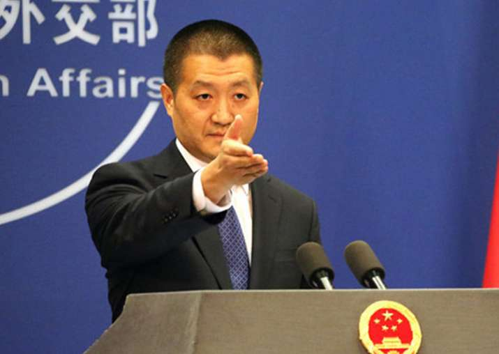 File pic - Foreign Ministry spokesperson Lu Kang
