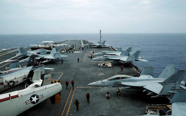 As China watches, India-Japan-US Malabar naval exercise