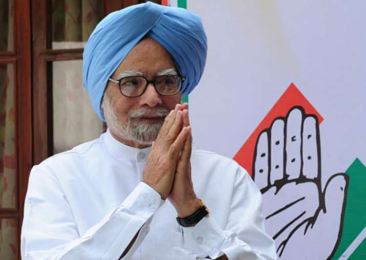 File pic of former PM Manmohan Singh