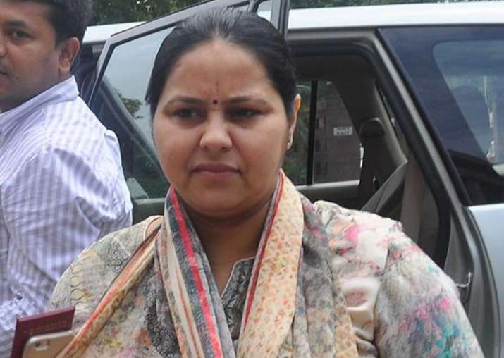 File pic of RJD MP Misa Bharti