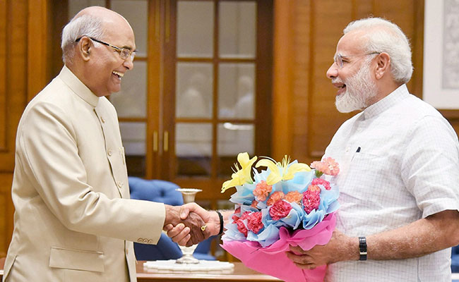President Kovind's maiden speech 'inspiring', sums up