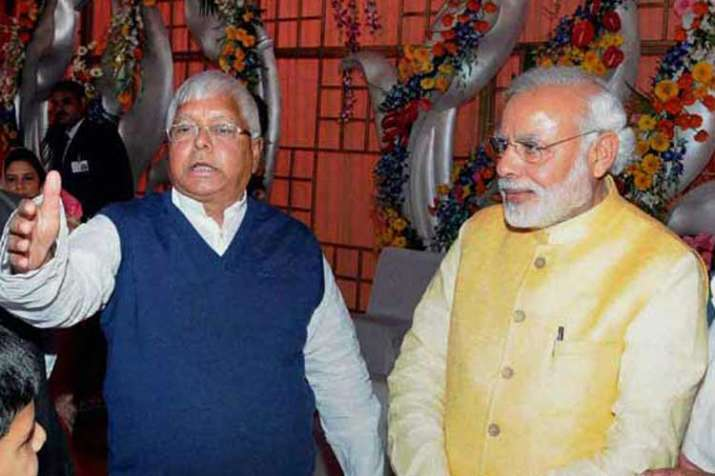 Modi indirectly attacked Lalu at all-party meeting