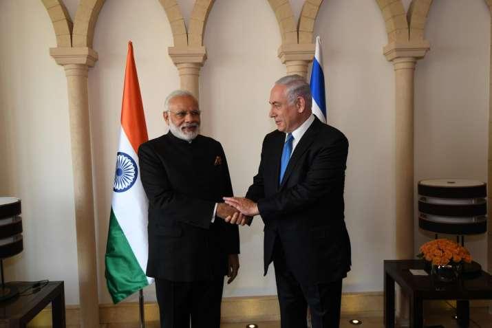 PM Narendra Modi met Israeli PM Benjamin Netanyahu to hold