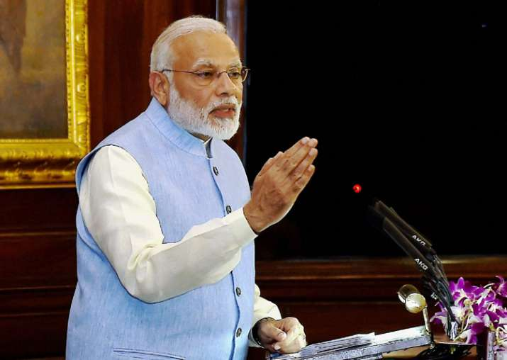 PM Modi address special session of Parliament