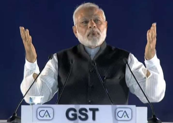 PM Modi addresses ICAI event post GST launch