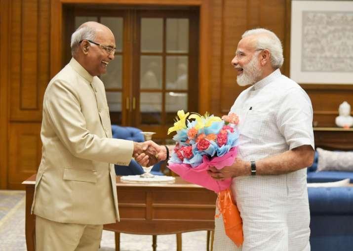 File pic - Ram Nath Kovind and Narendra Modi