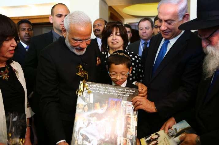 PM Narendra Modi meets Mumbai attack's Israeli child