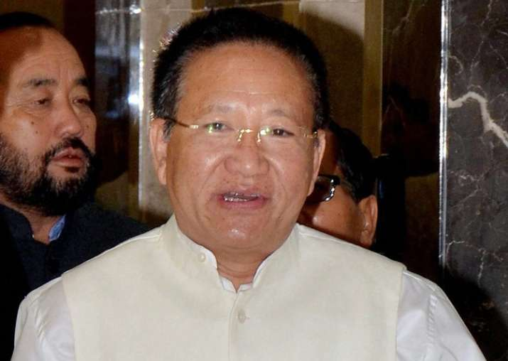File pic of TR Zeliang