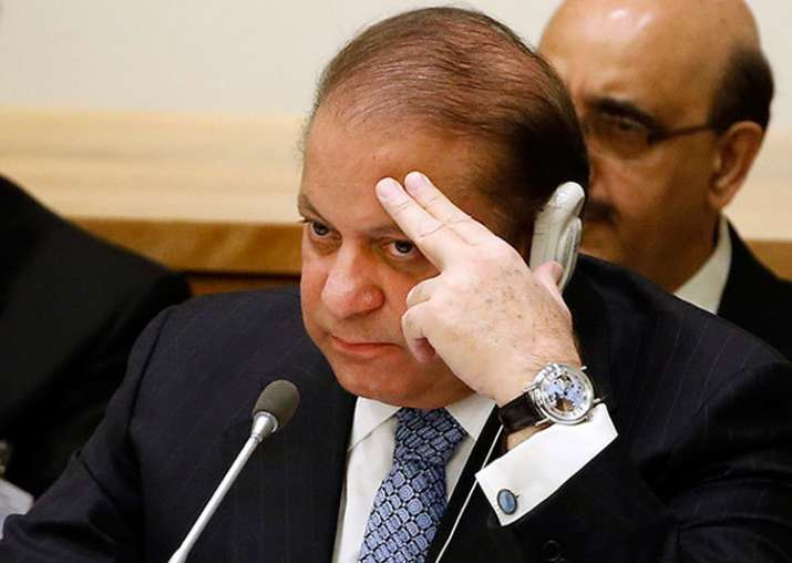 File pic of Pak PM Nawaz Sharif