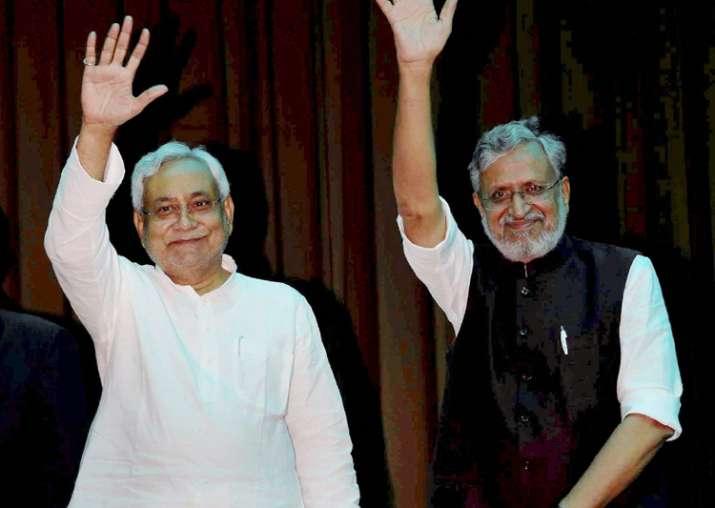 Nitish Kumar and Sushil Kumar Modi