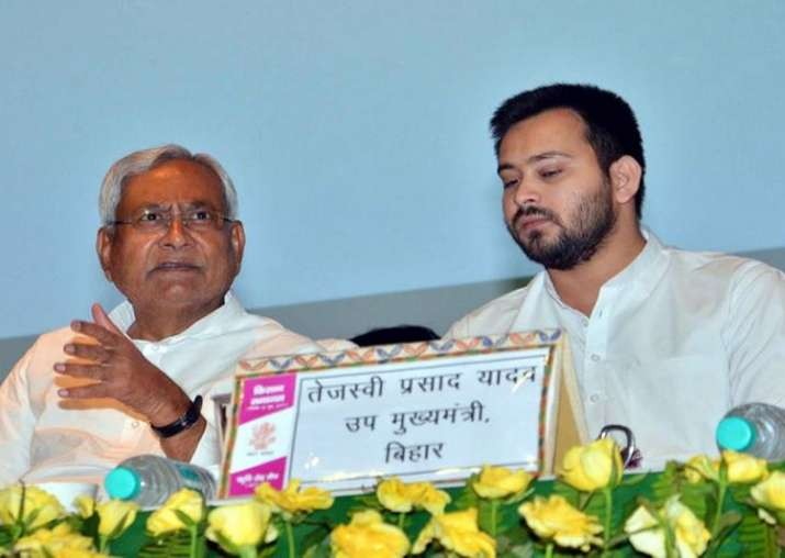 File pic - Nitish Kumar and Tejashwi Yadav