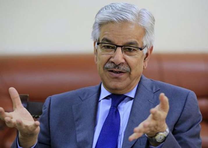 Defence Minister Khawaja Asif