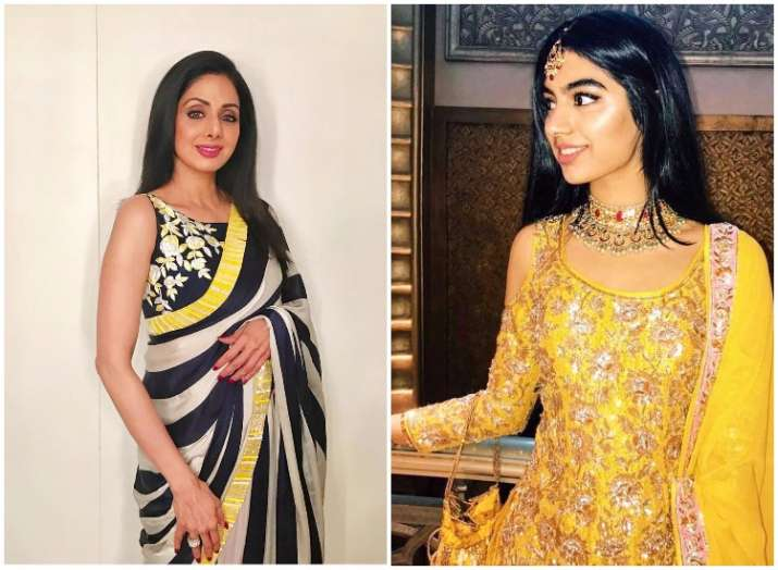 Sridevi and daughter Khushi Kapoor