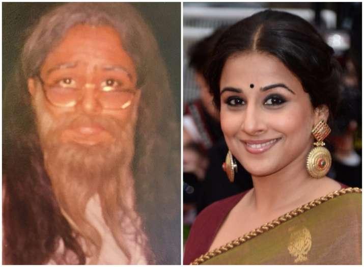 Vidya Balan throwback picture