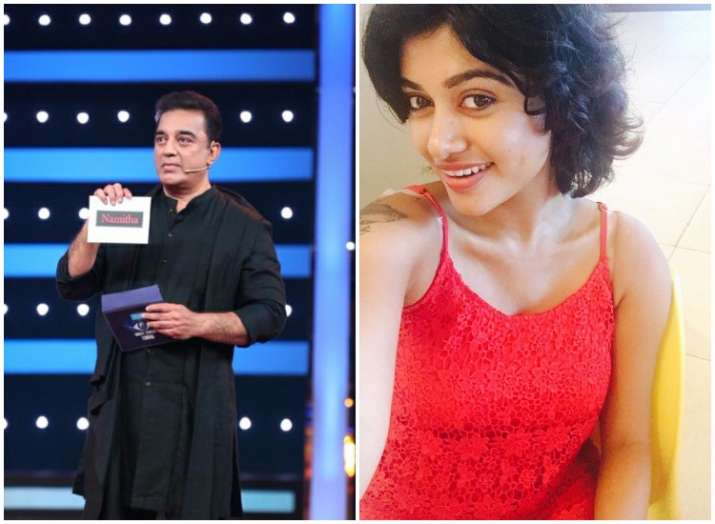 Kamal Haasan Oviya Helen top trends of Bigg Boss Tamil