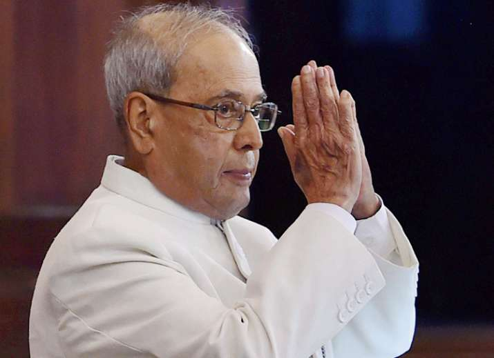 Pranab Mukherjee addresses the nation for the last time as